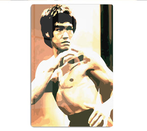 Bruce Lee Fight Stans HD Metal Print