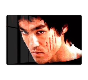 Bruce Lee HD Metal Print