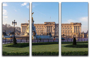 Buckingham palace in early winter morning 3 Split Panel Canvas Print - Canvas Art Rocks - 1
