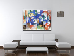 Bull by Franz Marc Canvas Print or Poster - Canvas Art Rocks - 4