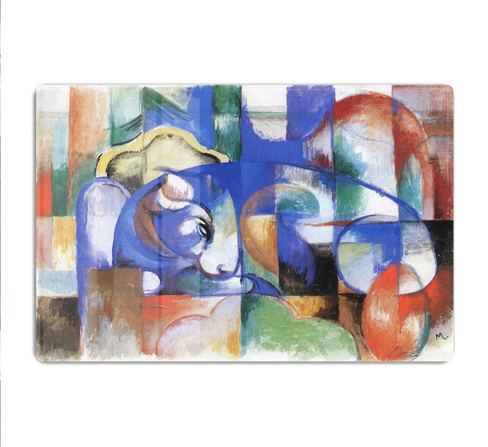 Bull by Franz Marc HD Metal Print