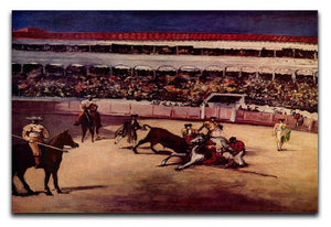 Bullfight by Manet Canvas Print or Poster  - Canvas Art Rocks - 1