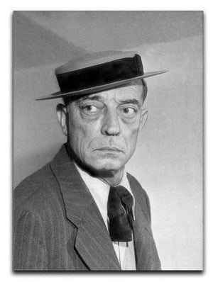 Buster Keaton Canvas Print or Poster  - Canvas Art Rocks - 1