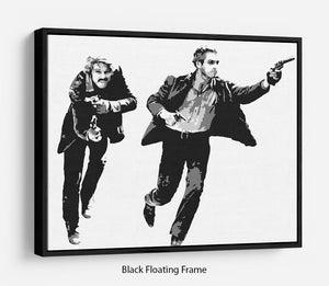Butch Cassidy and the Sundance Kid Floating Frame Canvas