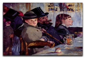 Cabaret in Reichshoffen by Manet Canvas Print or Poster  - Canvas Art Rocks - 1