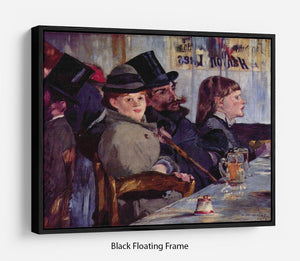 Cabaret in Reichshoffen by Manet Floating Frame Canvas