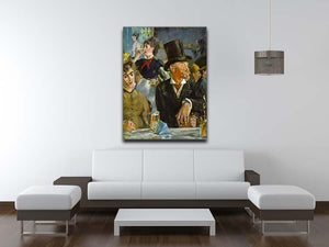 Cafe Concert by Manet Canvas Print or Poster - Canvas Art Rocks - 4