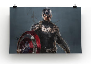 Captain America Canvas Print & Poster - Canvas Art Rocks