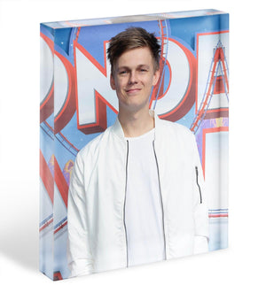 Caspar Lee Acrylic Block - Canvas Art Rocks - 1