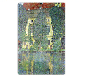 Castle at the Attersee by Klimt HD Metal Print