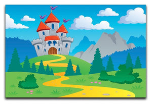 Castle theme landscap Canvas Print or Poster  - Canvas Art Rocks - 1