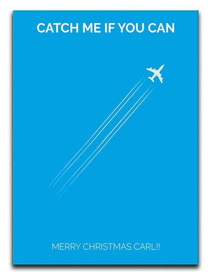 Catch Me If You Can Minimal Movie Canvas Print or Poster  - Canvas Art Rocks - 1