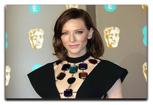 Cate Blanchett at the BAFTAs Canvas Print or Poster  - Canvas Art Rocks - 1