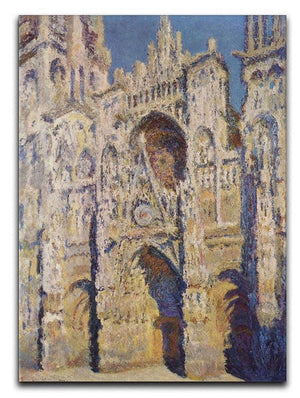 Cathedral at Rouen by Monet Canvas Print & Poster  - Canvas Art Rocks - 1