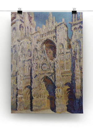 Cathedral at Rouen by Monet Canvas Print & Poster - Canvas Art Rocks - 2