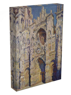 Cathedral at Rouen by Monet Canvas Print & Poster - Canvas Art Rocks - 3