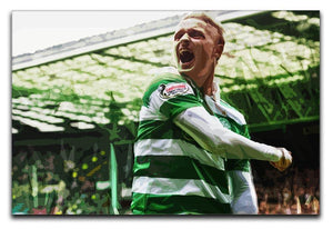 Celtic Leigh Griffiths Canvas Print or Poster  - Canvas Art Rocks - 1