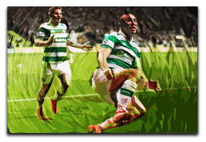 Celtic Scott Brown Canvas Print or Poster  - Canvas Art Rocks - 1