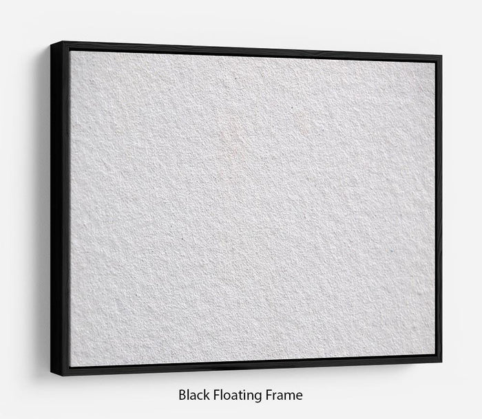 Cement texture Floating Frame Canvas
