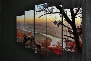 Chattanooga Campaign Painting 5 Split Panel Canvas - Canvas Art Rocks - 2