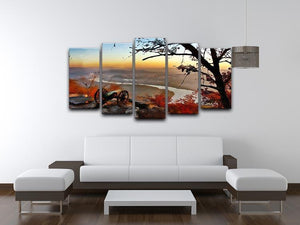 Chattanooga Campaign Painting 5 Split Panel Canvas - Canvas Art Rocks - 3