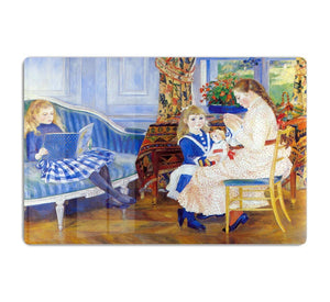 Children in the afternoon in Wargemont by Renoir HD Metal Print