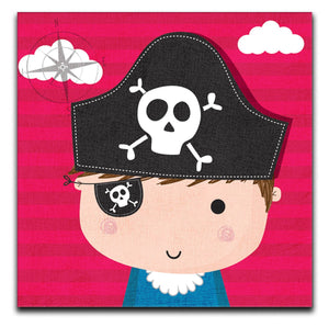 Children's Pirate Canvas Print - Canvas Art Rocks