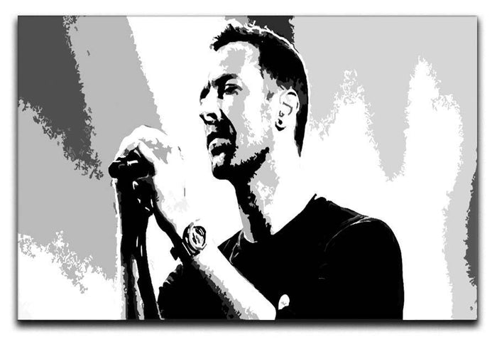 Chris Martin Pop Art Canvas Print or Poster