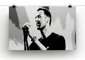 Chris Martin Pop Art Canvas Print or Poster - Canvas Art Rocks - 2