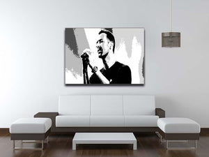 Chris Martin Pop Art Canvas Print or Poster - Canvas Art Rocks - 4