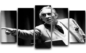 Christopher Lee 1986 5 Split Panel Canvas  - Canvas Art Rocks - 1