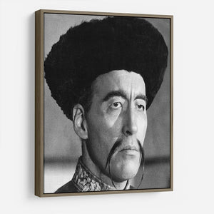 Christopher Lee in The Face of Fun Manchu HD Metal Print