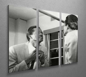 Chuck Berry dressing 3 Split Panel Canvas Print - Canvas Art Rocks - 2