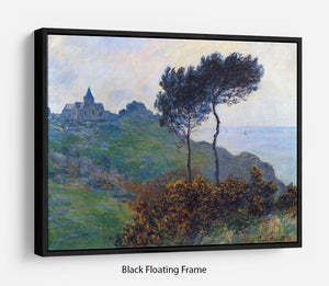 Church at Varengeville by Monet Floating Frame Canvas