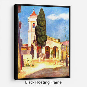 Church in Cagnes by Renoir Floating Frame Canvas