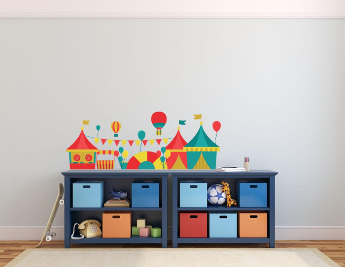 Circus Game Landscape Wall Sticker