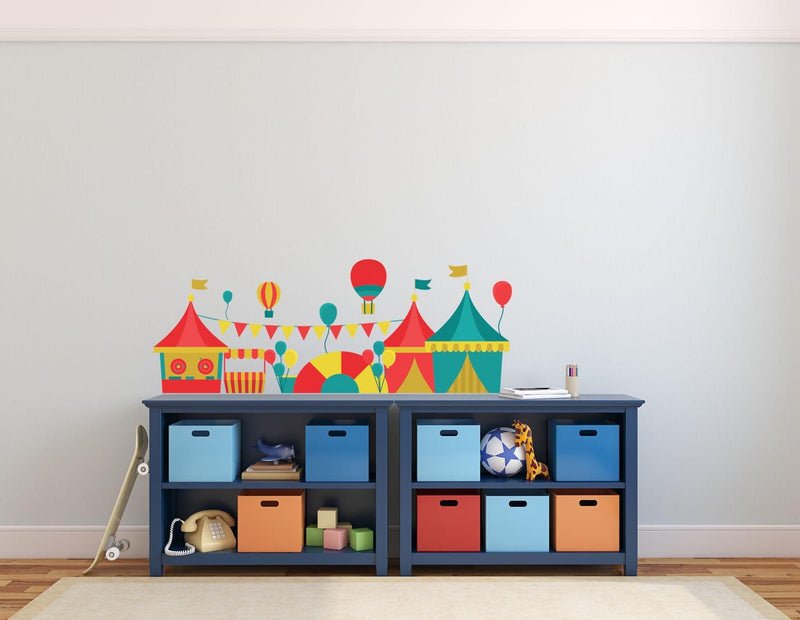 Circus Game Landscape Wall Sticker - Canvas Art Rocks - 1