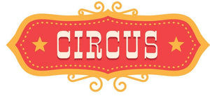 Circus Sign Wall Sticker - Canvas Art Rocks - 2