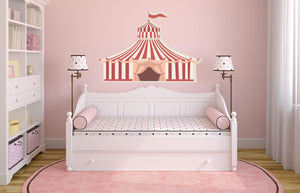 Circus Tent Wall Sticker - Canvas Art Rocks - 1
