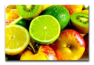 Citrus Fruits Print - Canvas Art Rocks - 1