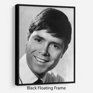 Cliff Richard in 1967 Floating Frame Canvas - Canvas Art Rocks - 1