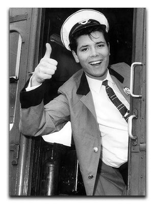Cliff Richard on a bus Canvas Print or Poster - Canvas Art Rocks - 1