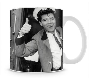 Cliff Richard on a bus Mug - Canvas Art Rocks - 1