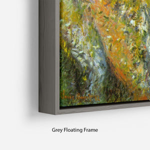 Cliffs by Monet Floating Frame Canvas