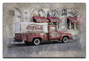 Coca Cola Van Painting Canvas Print or Poster  - Canvas Art Rocks - 1