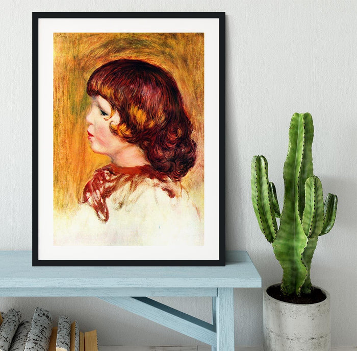 Coco by Renoir Framed Print