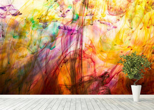 Colorful motion blur background Wall Mural Wallpaper - Canvas Art Rocks - 4