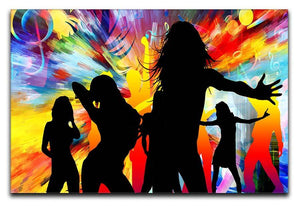 Colour Blast Dance Canvas Print or Poster  - Canvas Art Rocks - 1