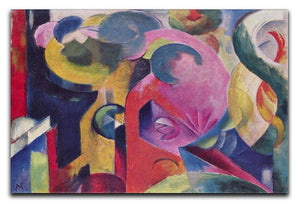 Composition III by Franz Marc Canvas Print or Poster  - Canvas Art Rocks - 1