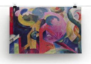 Composition III by Franz Marc Canvas Print or Poster - Canvas Art Rocks - 2